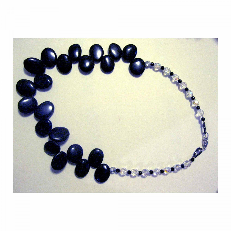 Black onyx necklace Lucine Designs fashion jewelry
