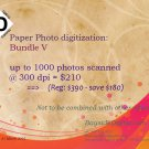 Photo scanning up to 1000 photos scanned at 300 dpi SPECIAL SALE