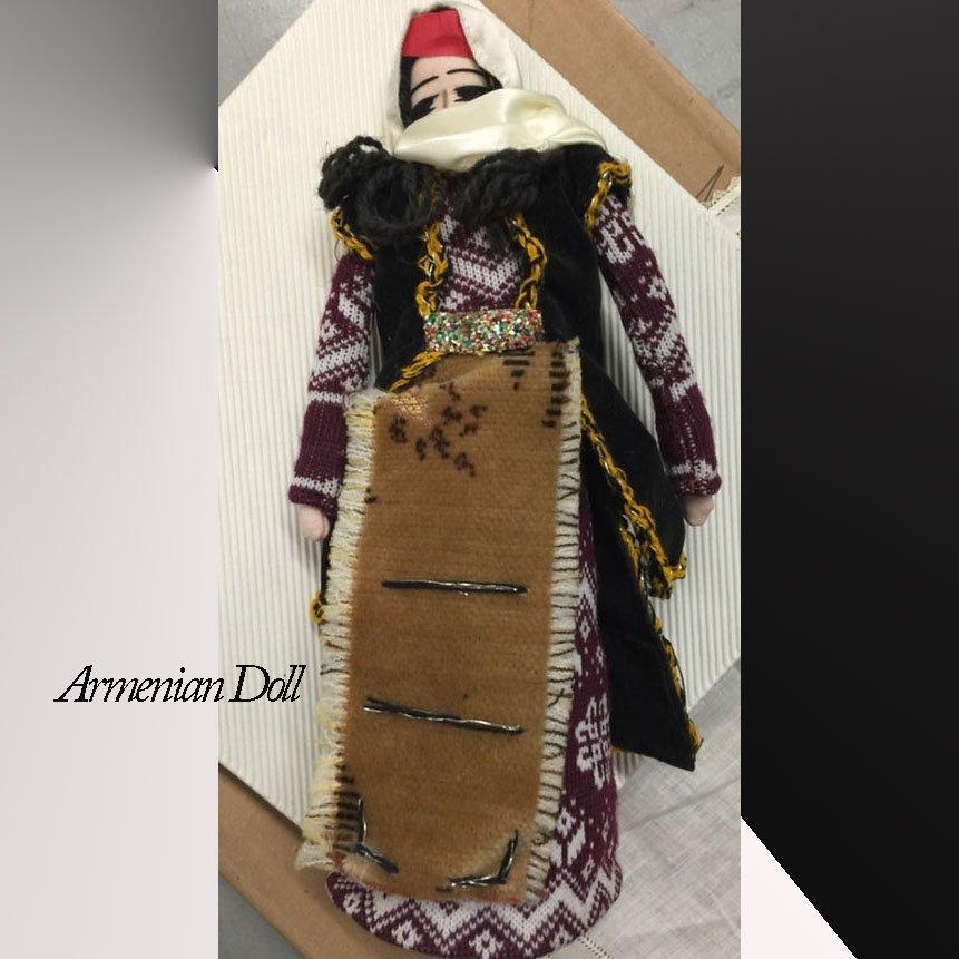 Armenian Doll handmade artisan gift