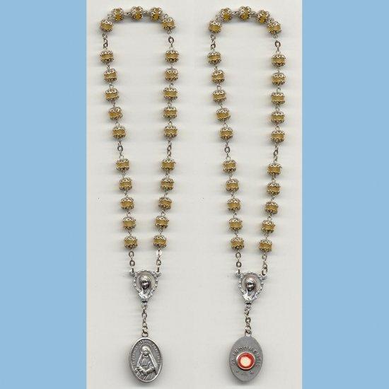 St. Frances Cabrini Chaplet Capped Matte Druks