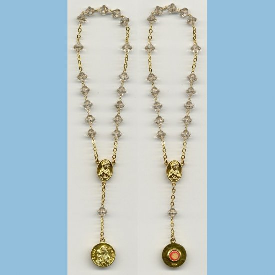 St. Anne Chaplet 3rd Class Saturn Beads