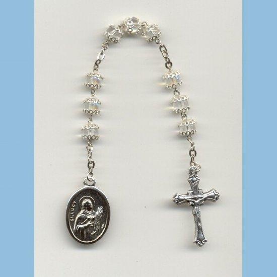 St. Lucy Chaplet Capped AB Druks