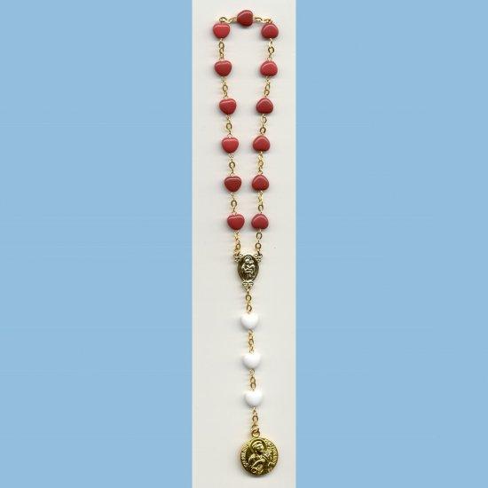 St. Philomena Chaplet Hearts