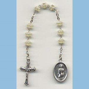 St. Peregrine Chaplet Capped Matte Druks