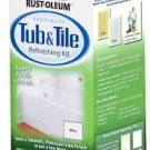 NEW Rust-Oleum Tub & Tile Refinishing 2 Part Kit White 7860519 32 oz Rustoleum
