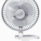 Clip-On Fan 6-Inch 2-Speed Comfort Zone CZ6C , Free Shipping, New