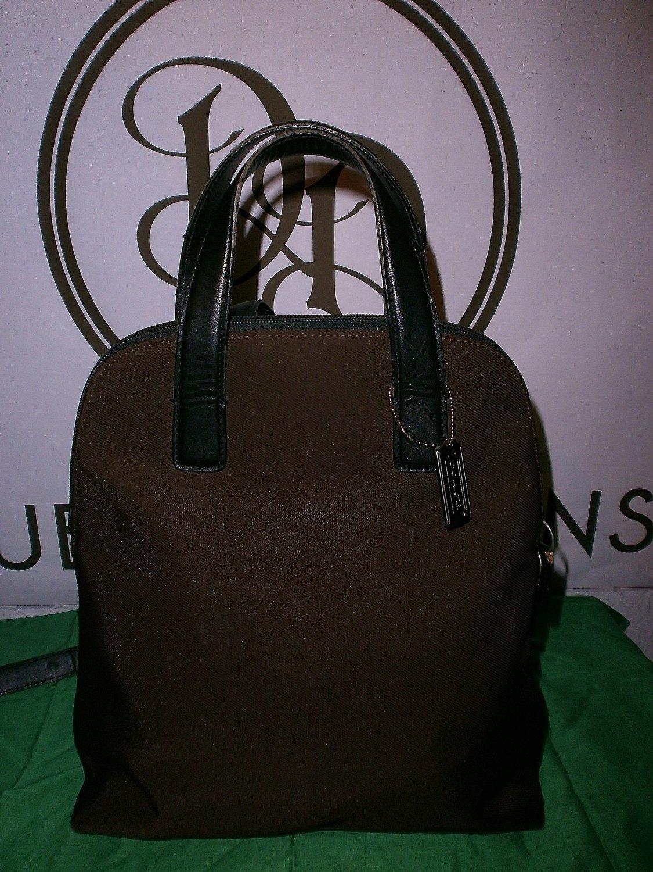 Vintage Brown Coach backpack