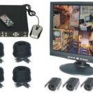 4 Channel Wired DVR Complete System