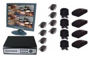 8 Channel Wireless DVR Surveillance System