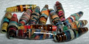 "Serendipity Paper Beads ""Tahoma"""