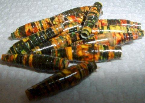 """Serendipity Paper Beads """"Hornet"""""""
