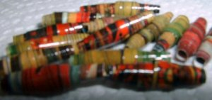 "Serendipity Paper Beads ""Serene"""