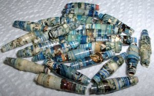 "Serendipity Paper Beads ""Portland"""