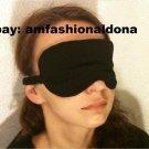 --SOFT PADDED EYE SLEEP MASK blindfold sleeping eyemask--