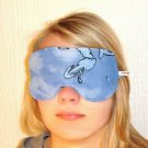 --LIMITED EDITION VERY SOFT SKY BLUE SLEEP MASK blindfolds--