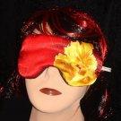 --wonderful Sleep Eye Masks ,big yellow flower, blindfolds (made by amfashion)--