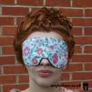 --KIDS FLOWERS SOFT PADDED EYE / SLEEP MASK blindfolds travelrelax meditation--