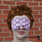 --LIGHT PINK ROSES SOFT PADDED EYE / SLEEP MASK blindfolds travelrelax meditation--