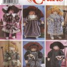 Simplicity Crafts Pattern 8688 - Stuffed Doll and Clothes