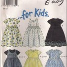 New Look Sewing Pattern 6850 - Girl's Dresses (3-8)