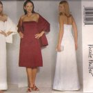 Butterick Sewing Pattern 6393 - Misses'/Miss Petite Dress & Stole