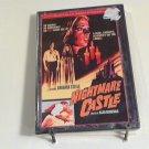 Nightmare Castle (1965) NEW DVD