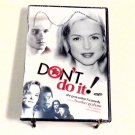 Don't Do It (1994) NEW DVD