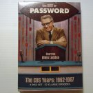 The Best of Password CBS Years 1962-1967 NEW DVD 4-DISC