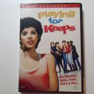 Playing for Keeps (1986) NEW DVD