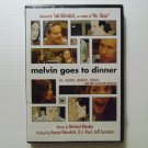 Melvin Goes to Dinner (2003) NEW DVD
