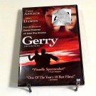 Gerry (2002) NEW DVD