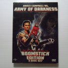 Bruce Campbell vs. Army of Darkness (1992) NEW DVD 2-DISC BOOMSTICK EDITION