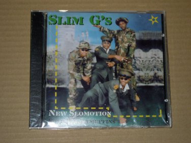 Slim G's - New Slomotion Solo Raggamuffins (2000) NEW CD