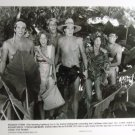 Club Paradise 1986 photo 8x10 andrea martin with 4 topless men BK-