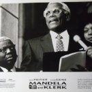 Mandela and DeKlerk 1997 photo 8x10 sidney poitier