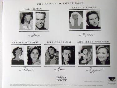 The Prince of Egypt 1998 photo 8x10 sandra bullock jeff goldblum michelle pfeiffer