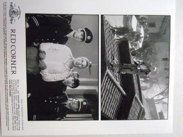 Red Corner 1997 press photo 8x10 richard gere bai ling RC-2