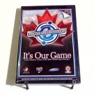 It's Our Game World Cup of Hockey (2004) NEW DVD indent