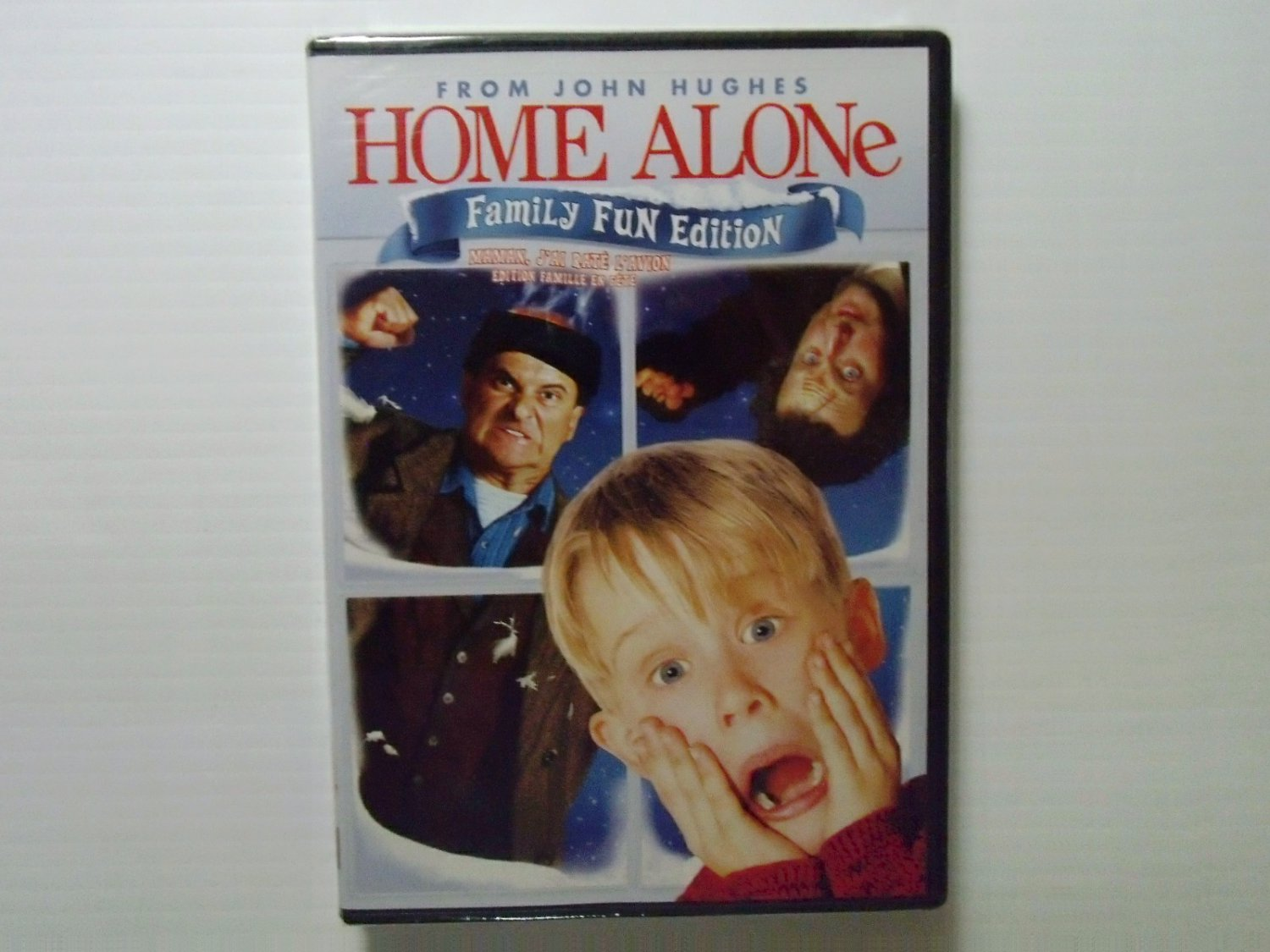 HomeAlone1990NewDvdFamilyFunEdition