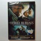 The Three Burials of Melquiades Estrada (2005) NEW DVD