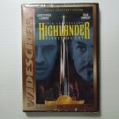 Highlander Director's Cut (1986) NEW DVD 10th ANNIVERSARY