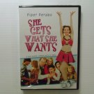 She Gets What She Wants (2001) NEW DVD