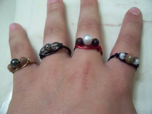 Wire Wrap Rings(Small)