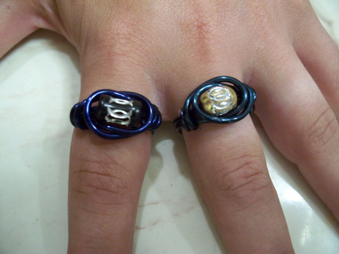 Wire Wrap Rings (Large)