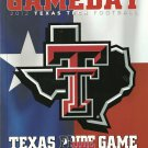 2012 Texas v Texas Tech Football Program