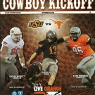 2012 Texas v Oklahoma State Football Program