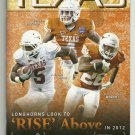 2012 Texas v Wyoming Football Program
