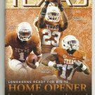 2012 Texas v West Virginia Football Program