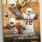 2012 Texas v Iowa State Football Program