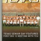 2012 Texas v TCU Football Program